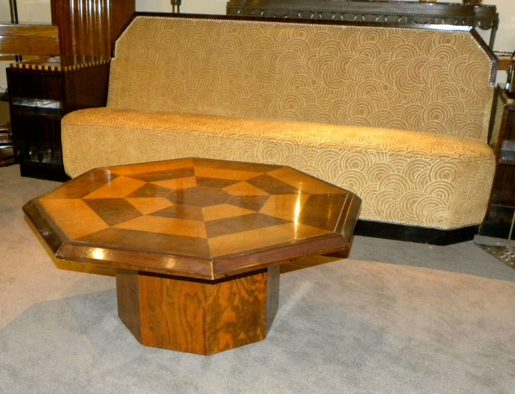 Original Two Tone Octagon Coffee Table 2