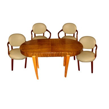 Art Deco Dining Suite At 1stdibs