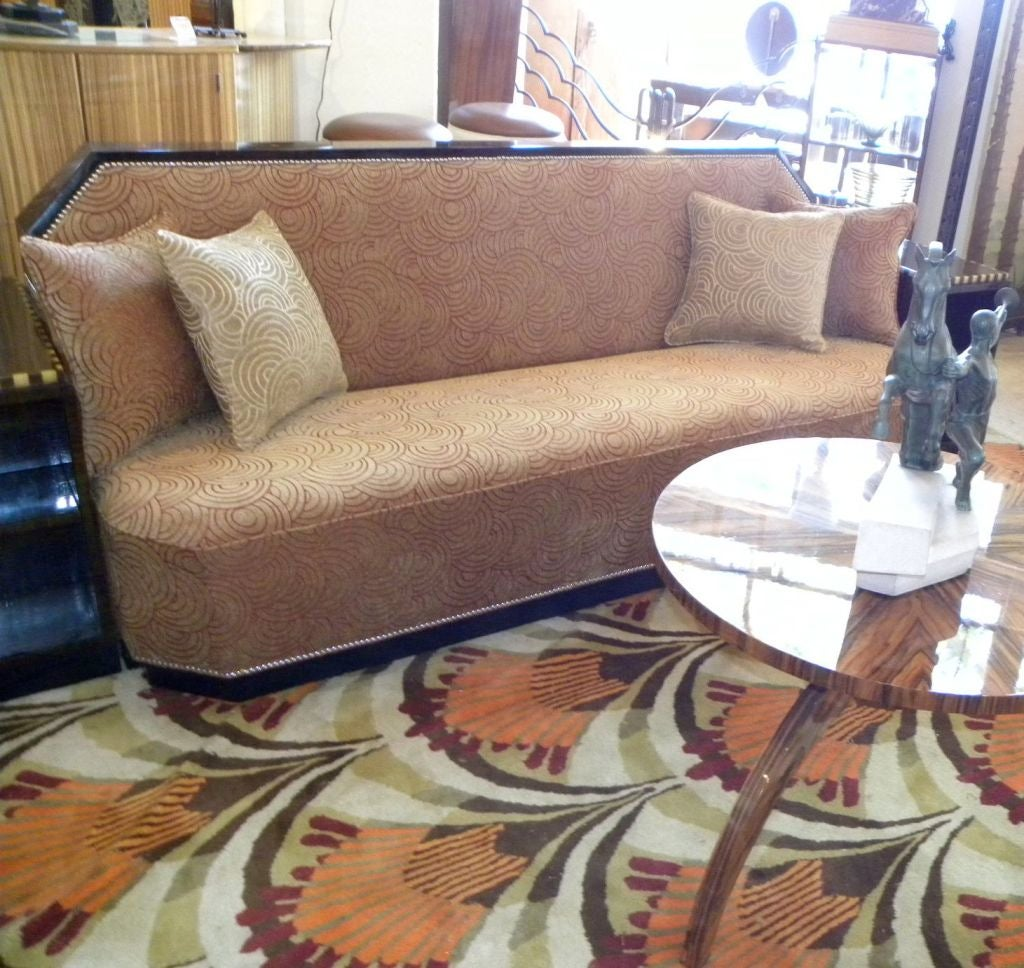 Art Deco Cozy Corner Or Daybed Sofa 2