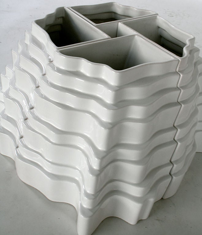 Sculptural Collina Vase designed by Sergio Asti 4