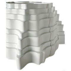 Sculptural Collina Vase designed by Sergio Asti