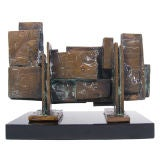 Modernist Bronze Sculpture by Ira Grayboff