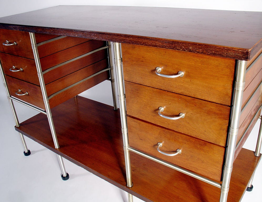 Stained Very Rare Sideboard Designed By Warren McArthur For Sale