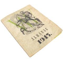 Very Rare Surrealist Art Book -Lithographs - Duchamp, Matta 1943