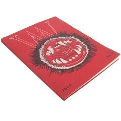 Very Rare Surrealist Art Book -Lithographs - Matta, Duchamp 1944