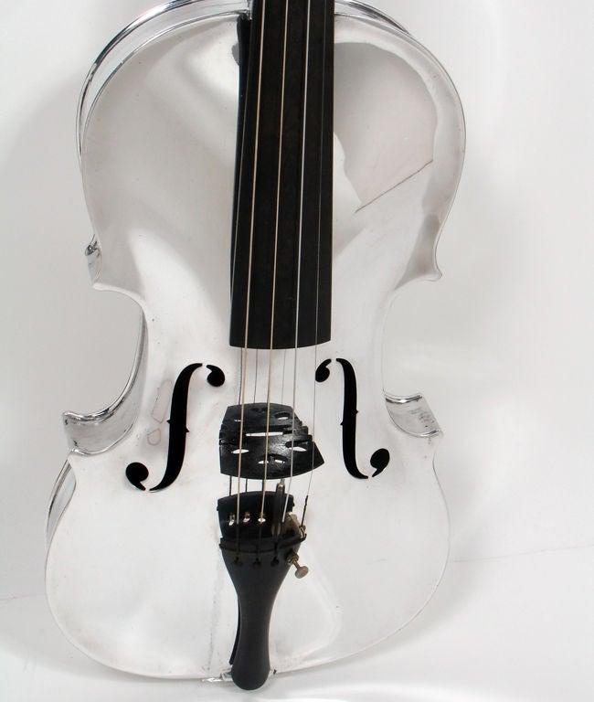 Incredible Aluminum Violin - circa 1930's 4