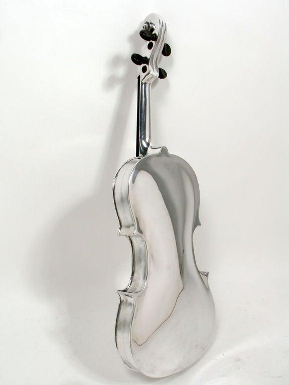 Incredible Aluminum Violin - circa 1930's 5