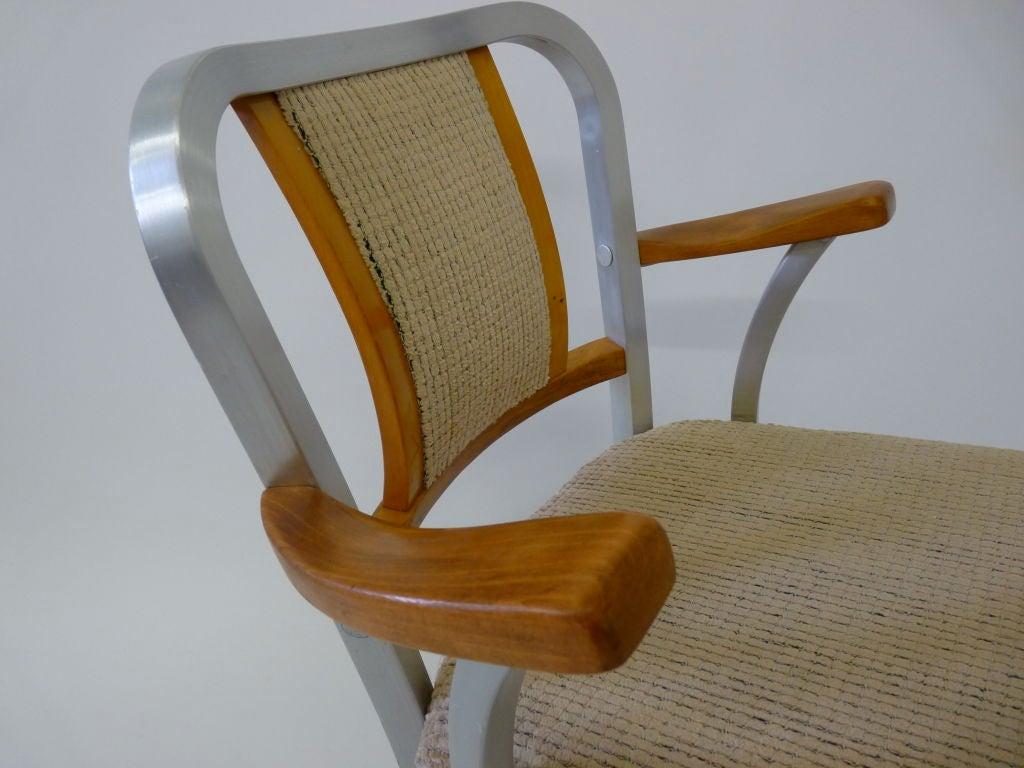 shaw walker industrial desk chair at 1stdibs