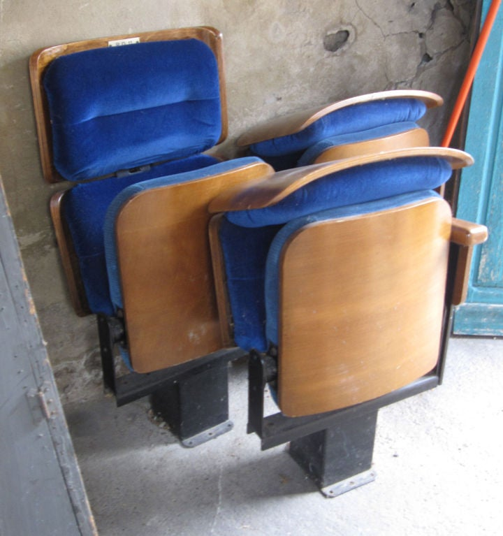 80 Orchestra Seats From Salle Pleyel Concert Hall At 1stdibs