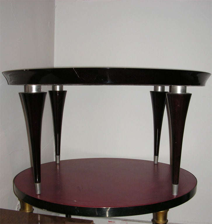 1930 1940 art d co style coffee table for sale at 1stdibs - Table de nuit art deco ...