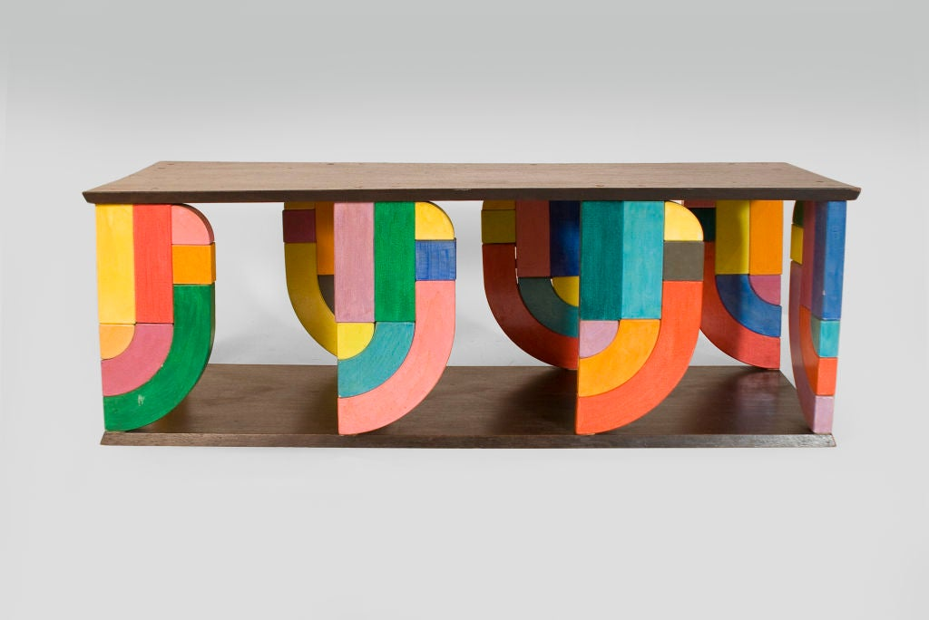 Mid-20th Century Coffee Table in Pop-Art Form For Sale