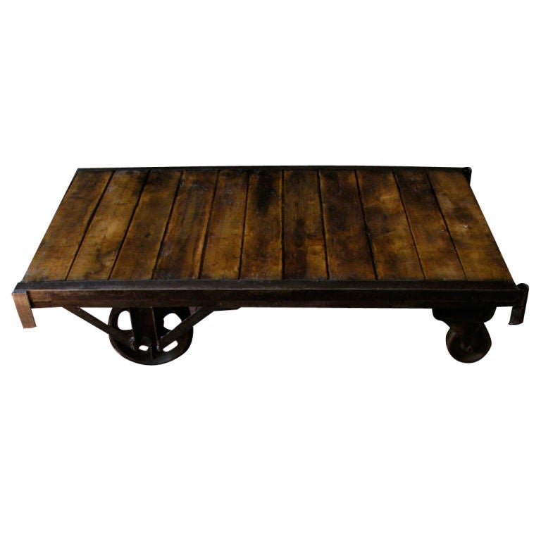 8742 1275349006 1 for Wood plank top coffee table