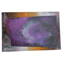 Abstract Impressionism Oil Painting on Canvas