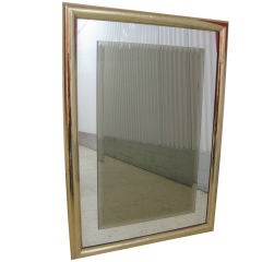Modern Hollywood Regency Mirror