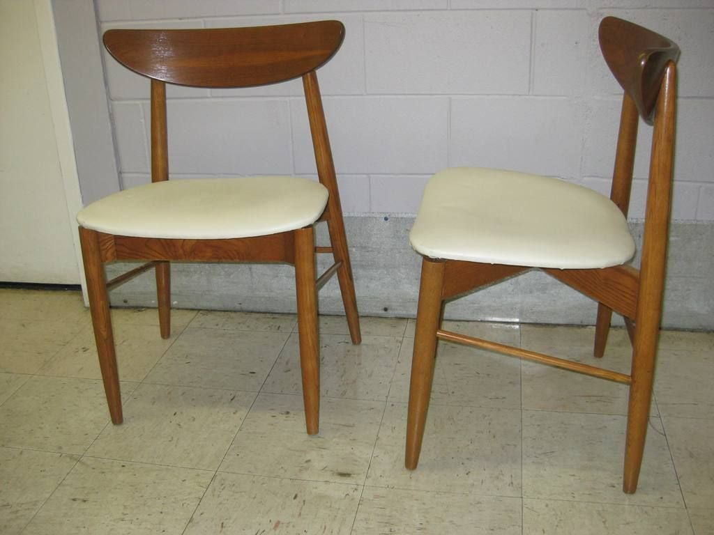 Very comfortable set of 10 mid century modern dining for Modern dining furniture