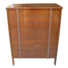Tall John Widdicomb Chest of Six Drawers High Boy