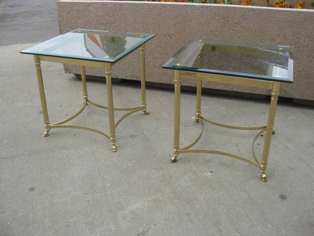 Pair Of LaBarge Hollywood Regency Side / End Tables 2