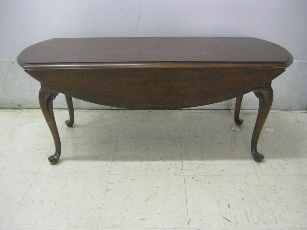 Drop Leaf Tail Coffee Table Mid Century Regency Design Each Is
