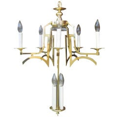 High Style Regency Chandelier