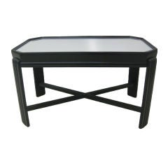 Elongated Octagonal Cocktail Table