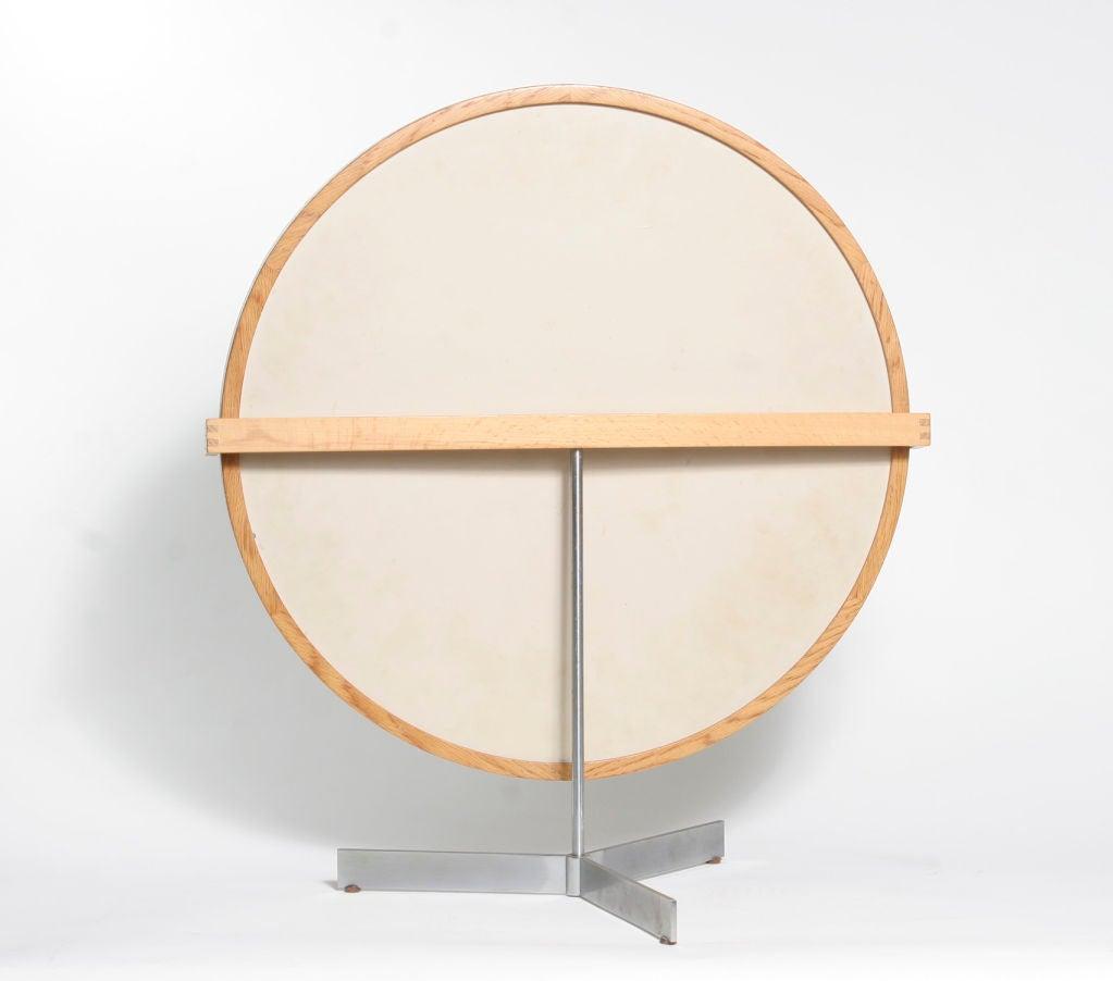 Scandinavian Round Tabletop Mirror At 1stdibs