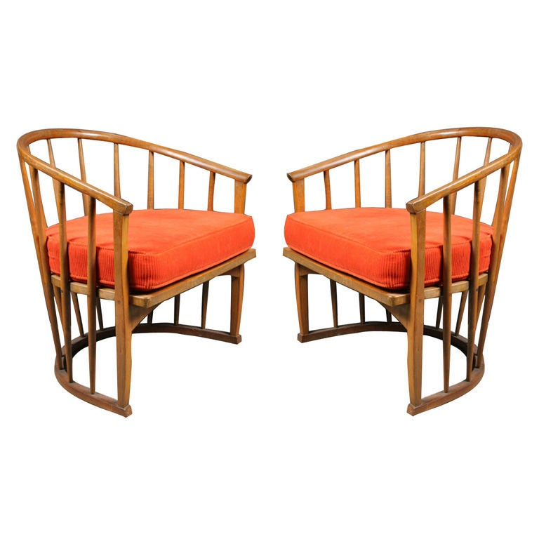 Pair of modernist bentwood chairs by john van koert at 1stdibs for Chaise moderne montreal