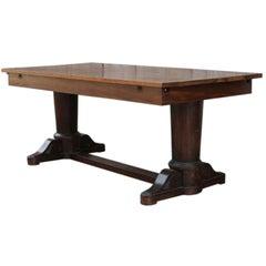 Restauration Period Mahogany Dining Table