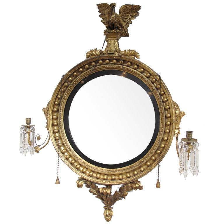 Regency Period Girandole Mirror At 1stdibs