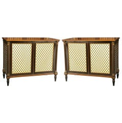 Pair of Regency Period Side Cabinets