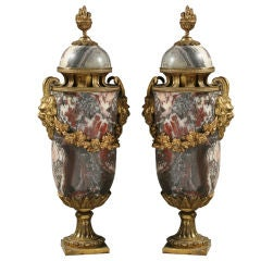 Pair of Louis XVI Style Cassolettes