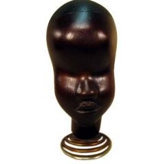 Hagenauer Bust of African Woman