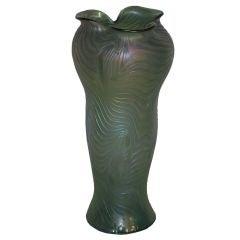 "Loetz  ""Phanomen"" Irridescent Glass Vase"
