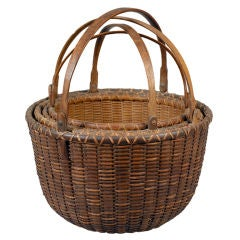 Wonderful Nest of Nantucket Baskets