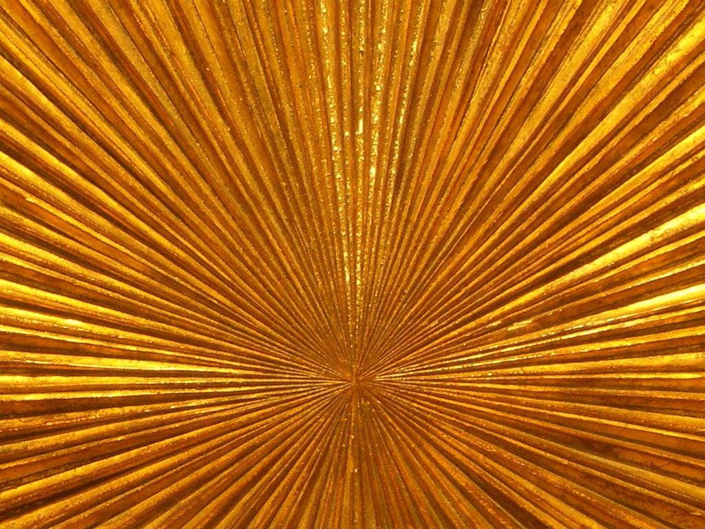 Gilt Wood Carved Sunburst 7
