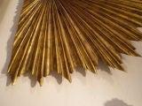Gilt Wood Carved Sunburst image 4