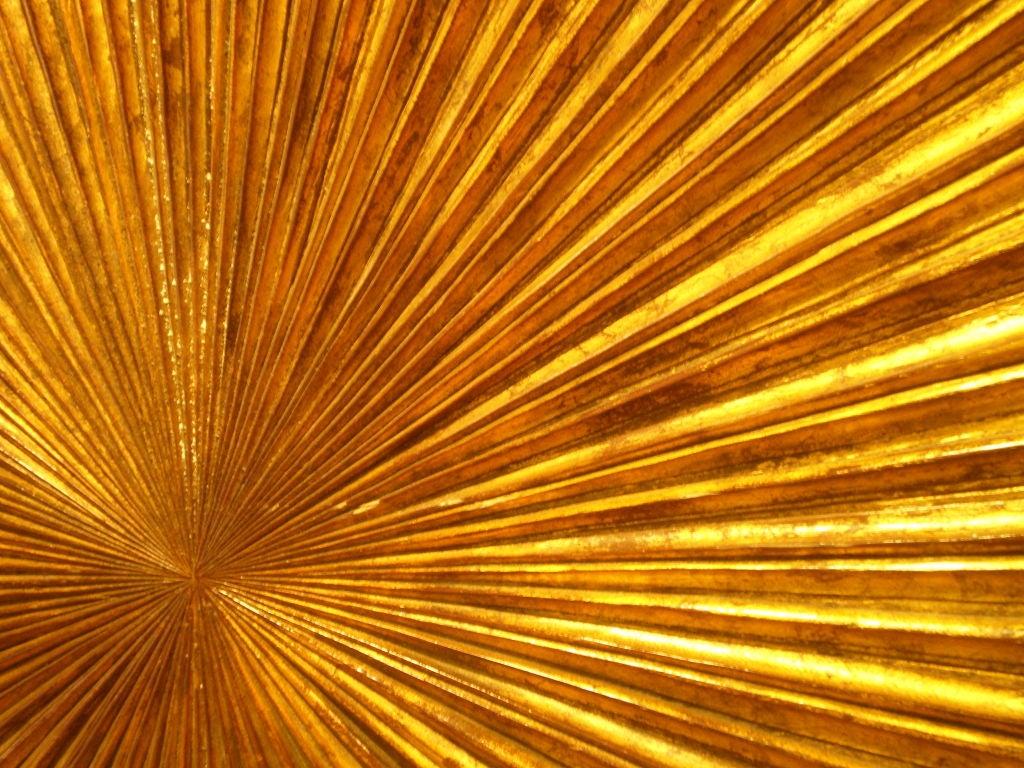 Gilt Wood Carved Sunburst 6