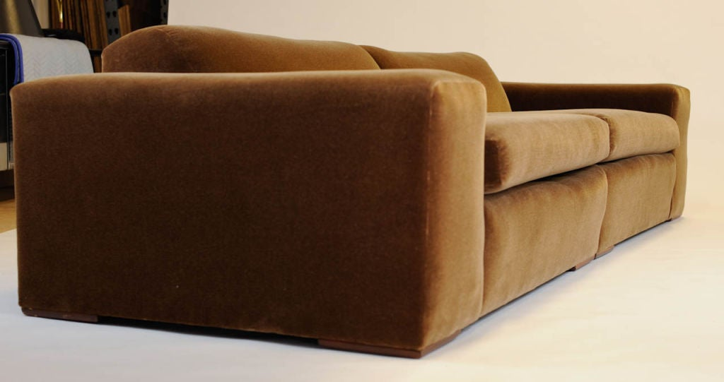 Sectional sofa after paul frankl at stdibs