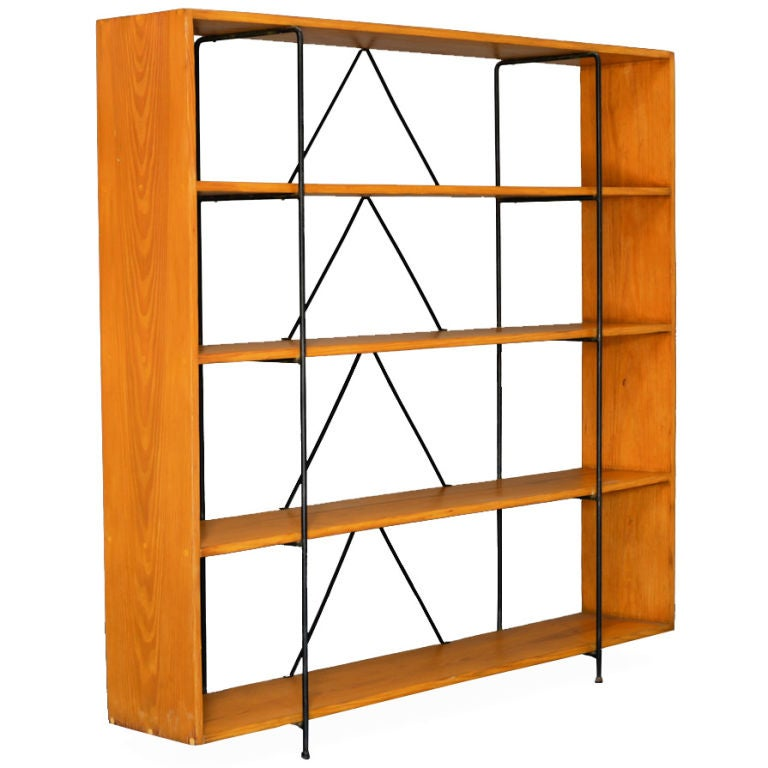 California Modernist Book Shelf at 1stdibs