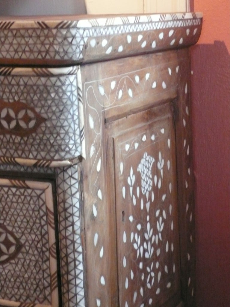 Syrian Mother-of-Pearl Chest of Drawers image 5