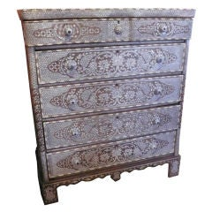 Syrian Mother-of-Pearl Chest of Drawers thumbnail 1