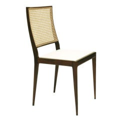 Set of six chairs by Joaquim Tenreiro