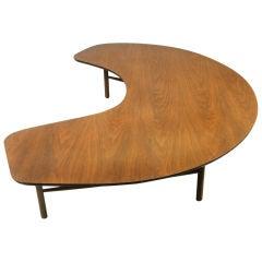 """Half Moon"" table by Greta Magnusson Grossman"