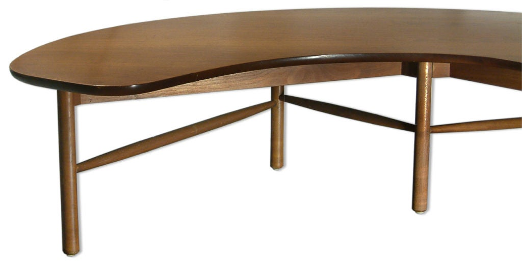 Half Moon Table By Greta Magnusson Grossman At 1stdibs