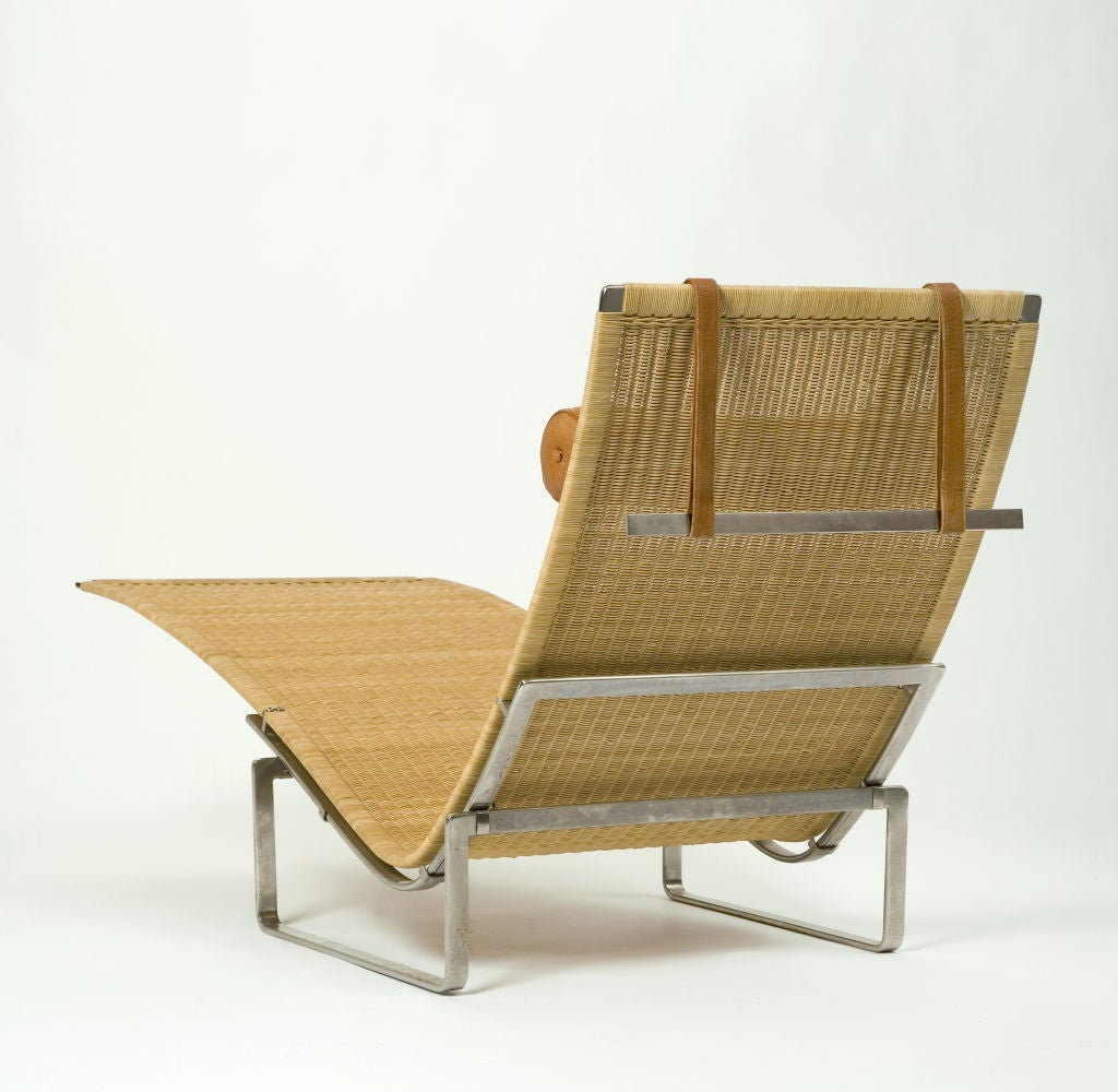 PK 24 Chaise Longue by Poul Kjaerholm 3