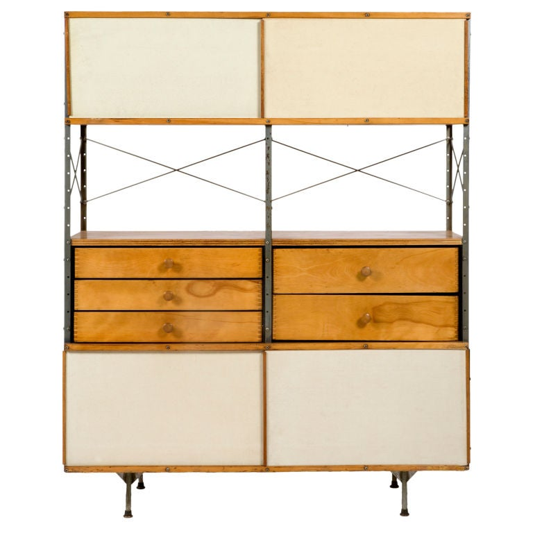 400 Series Eames Storage Unit By Charles And Ray Eames 1