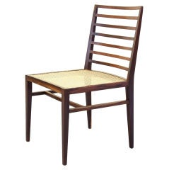 Set of Nine Dining Chairs by Joaquim Tenreiro, Brazil, 1950s