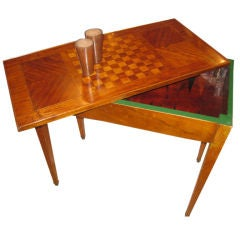 French  18th Century Game Table
