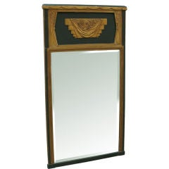 French Art Deco Pier Mirror of Superior Quality