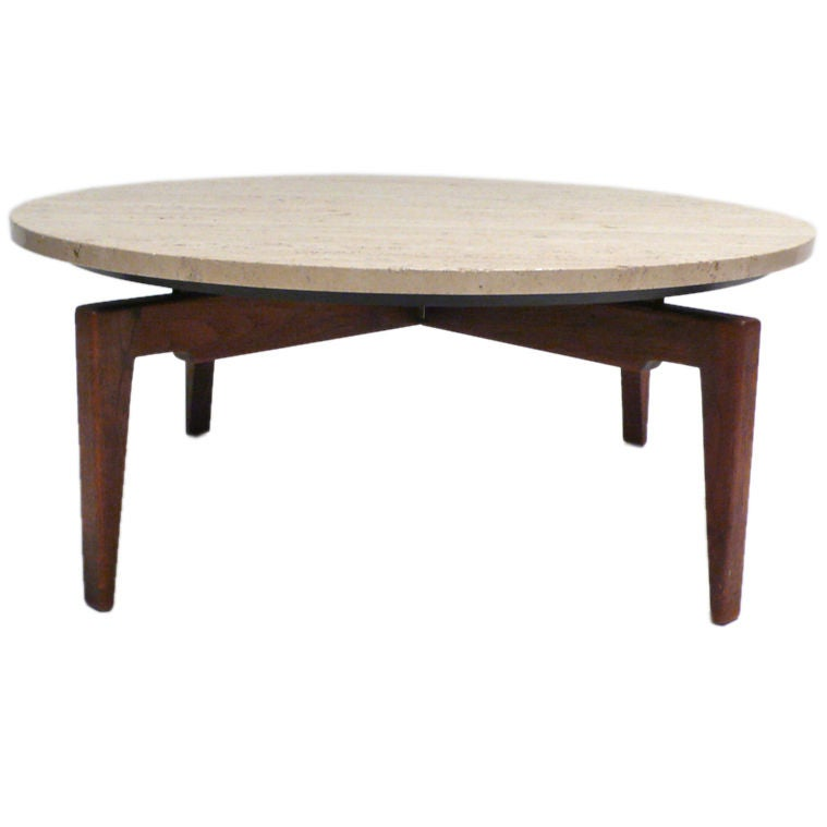 Lazy Susan Cocktail Table By Jens Risom At 1stdibs