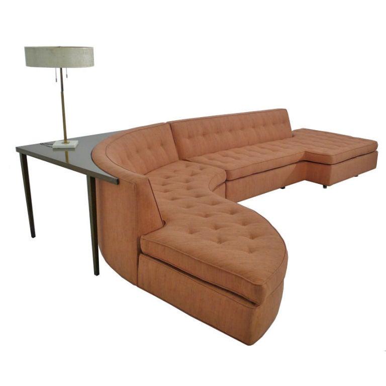 Featherby Corner Sofa Harveys: Monumental Harvey Probber Sectional Sofa At 1stdibs